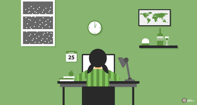 ۶ نکته افزایش تمرکز برای کارکردن در خانه