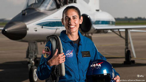 خانومانه ; یاسمین مقبلی دختر فضانورد ایرانی