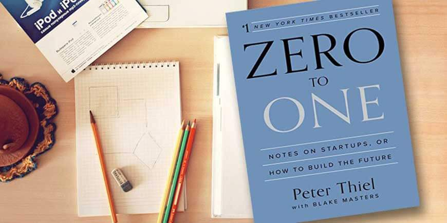 صفر به یک اثر پیتر تیل